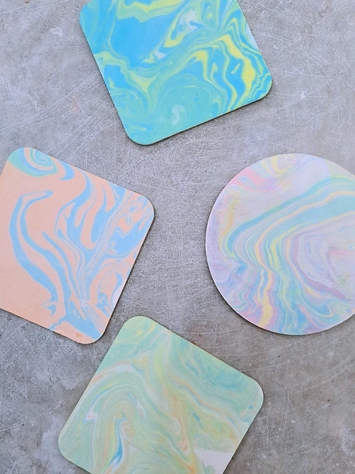 Marbleize Art