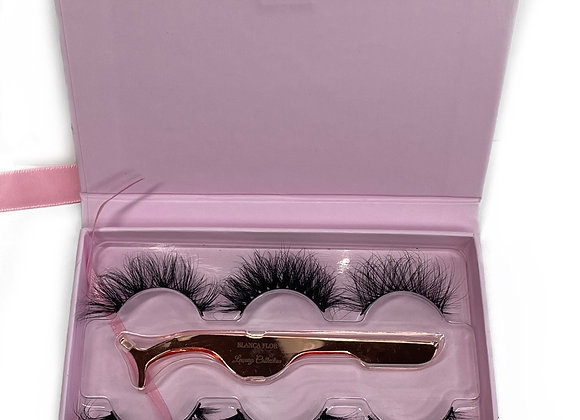 Limitted Edition Luxury Collection 3 Pair Lash Book