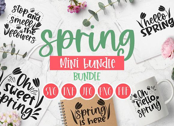 Spring SVG mini bundle  Spring SVG cut file