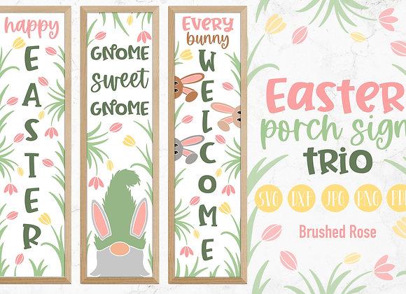 Easter porch sign| Easter Bundle| Vertical signs