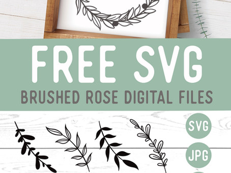 Botanical Leaves and Wreathes SVG