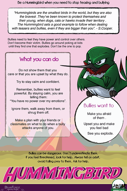 Poster Dealing With Bullies - Downloadable