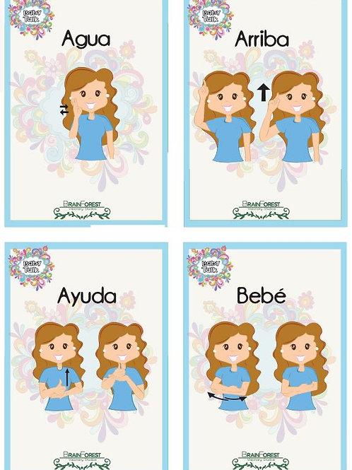 Flashcards Lenguaje de Señas para Bebés - Downloadable