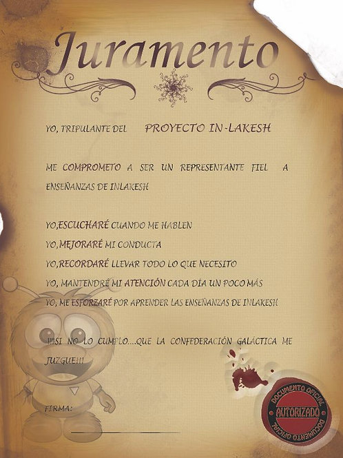 Carta Compromiso In-Lakesh - Downloadable