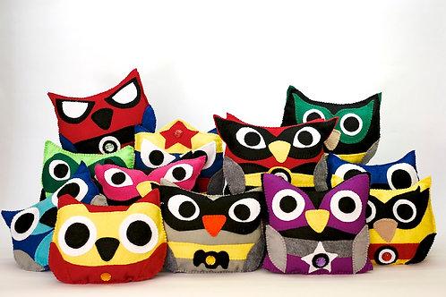 Super Hero Owls (Solo en Ventanilla)