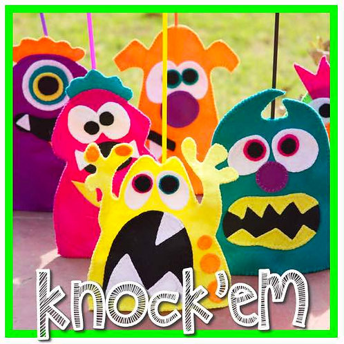 Knock'eM Monsters (Solo en Ventanilla)