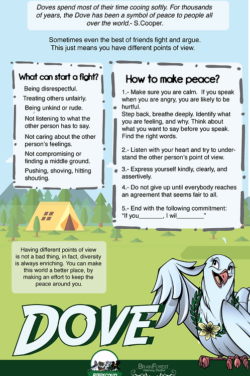 Poster Making Peace - Downloadable