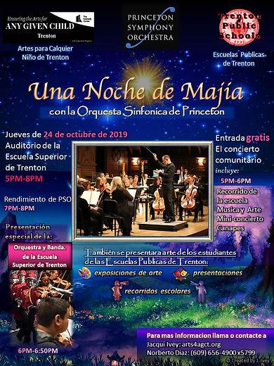 10-24-19 PSO Concert flyer (Spanish) (1)