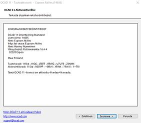 OCAD 11 lisenssi ja aktivointi.png