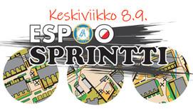 EspooSprintti ke 8.9. Laurinlahdessa