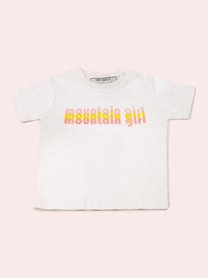 TRIXIE - Tee shirt blanc bébé