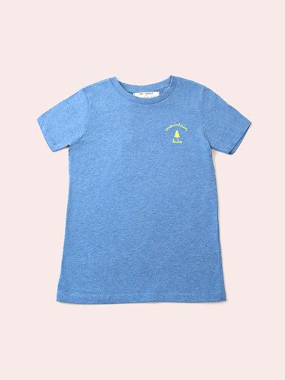 TREE - Tee shirt bleu enfant