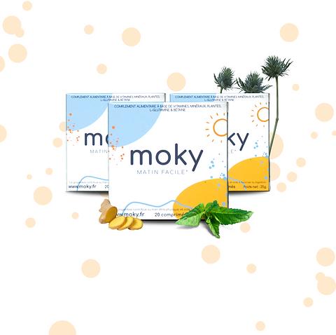 Moky - Lot de 3 boîtes