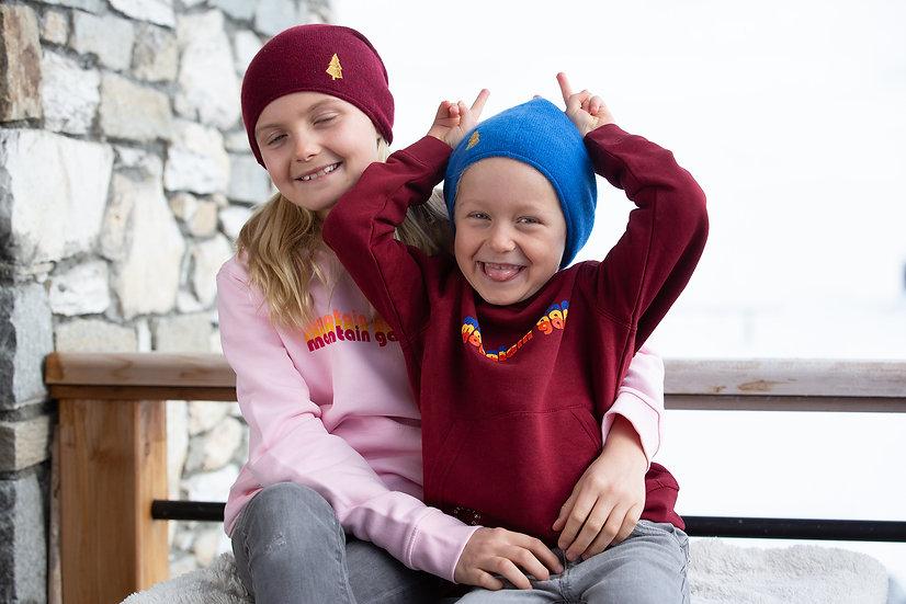 HARVEY - Sweatshirt bordeaux enfant