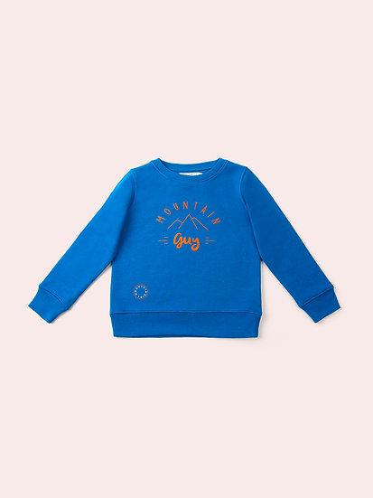 STEADY - Sweatshirt royal enfant
