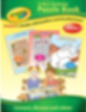 Crayola 3-in-1 Activity Puzzle Book