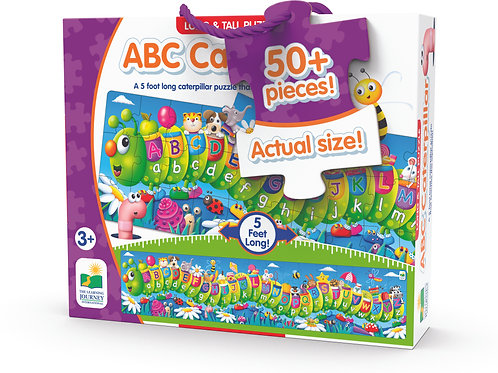 Long & Tall Puzzles - ABC Caterpillar