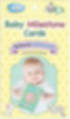 Baby's Room Baby Milestone Cards