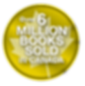 Over 6 Million Books Sold badge