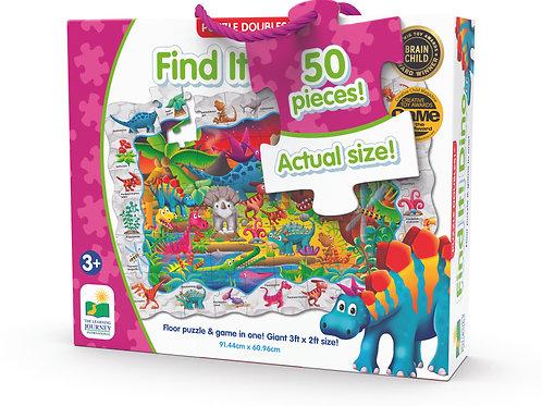 Puzzle Doubles - Find it Dinosaurs