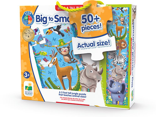 Long & Tall Puzzles - Big to Small Animals
