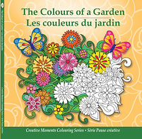 Pencil Patterns The Colours of a Garden adult colouring book