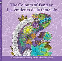 Pencil Patterns The Colours of Fantasy adult colouring book