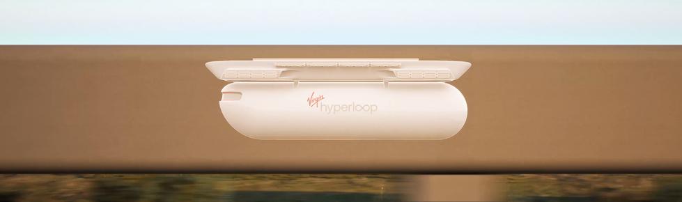 Teague x Virgin Airlines Hyperloop