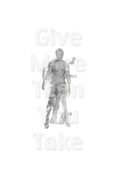 """Give More Than You Take 13"""" x 19"""" Archival ink jet prints 2011"""