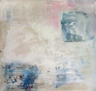 Dissolving, Oil on canvas, 185 x 185 cm, 2012