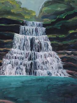 Wei Sawdong, Acrylic on canvas, 75 x 100 cm, 2020