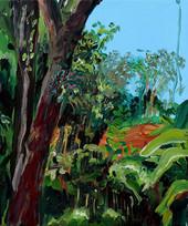 Umroi, Acrylic on canvas, 30 x 25 cm, 2017