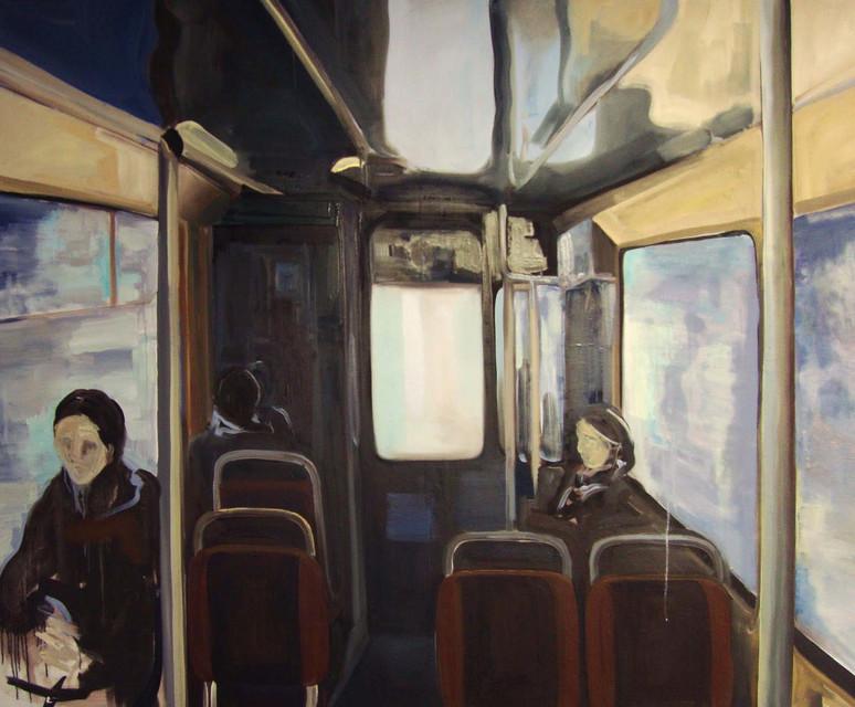 Inside, Oil on canvas, 150 cm x 185 cm, 2011