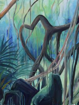 Heard, Acrylic on Canvas, 120 x 160 cm, 2020