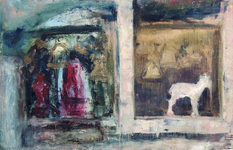 Sakrivice, Oil on canvas 55 x 88 cm, 2015 201
