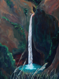 Sweet Fall, Acrylic on canvas, 100 x 150 cm, 2020