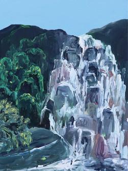 Tyrshi, Acrylic on Canvas 47 x 51 cm, 2020