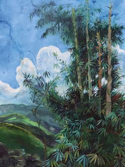 Saisiej, Acrylic on Canvas, 150 x 100 cm, 2020
