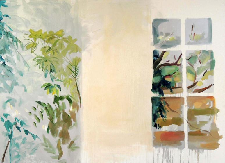 Windows Oil on canvas 214 x 152 cm 2014