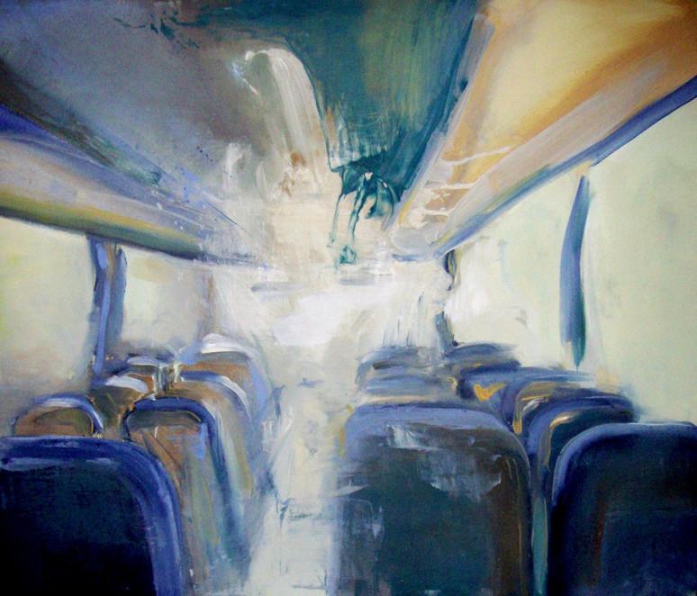 Organic LIght, Oil on canvas, 100 x 120 cm, 2011