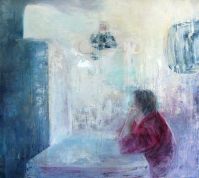 Comunication, Oil on canvas , 185 x 200 cm, 2012