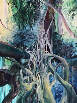 The Path, Acrylic on Canvas 205 x 140 cm, 2020