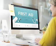 First Aid Emergency blended learning first aid paediatric and adult first aid at work.