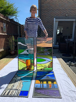 Ruth Mullan stained glass artist