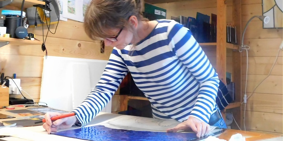 Stained glass leading workshop for beginners