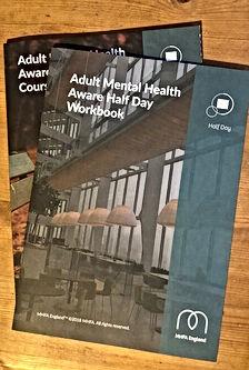 Mental Health First Aid work book