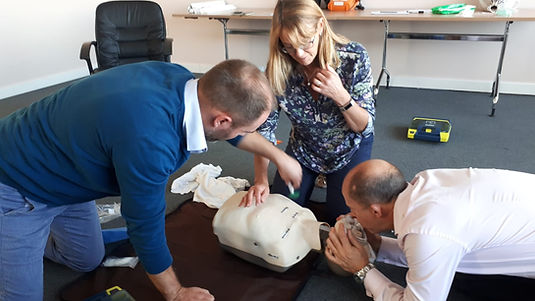Emergency First aid training BLS