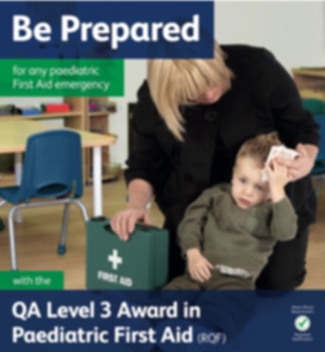 Level 3 emergency Paediatric First Aid early years First Aid Training Burgess Hill