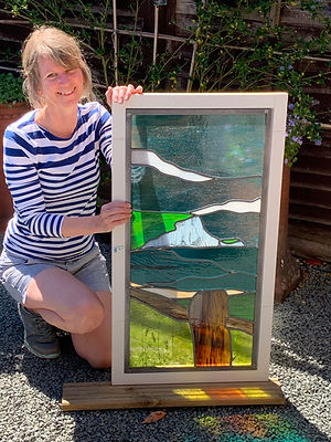 Ruth Mullan stained glass glass artist