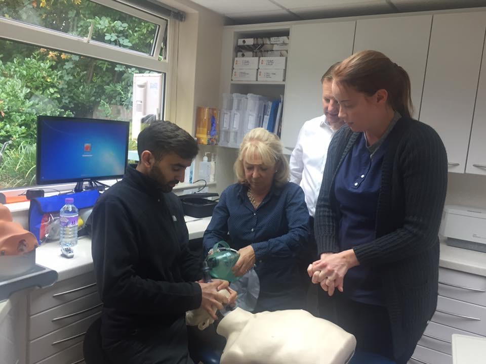 Dental teams first aid